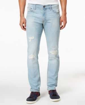 Distress is a good thing when it comes to Ring of Fire and these awesome Cayenne Sklyar Jeans, featuring a modern slim fit.