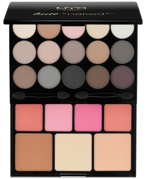 Enhance your natural beauty with the Butt Naked Palette filled with 15 neutral matte and shimmery eye shadows 4 rosy blushers 2 cheek illuminators and 1 defining bronzer. This is the perfect kit to create natural looks for daytime to nighttime wear.