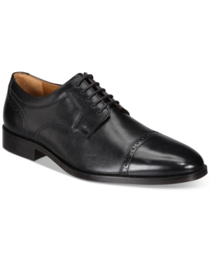 Johnston & Murphy mix classic style with modern comfort in the Hernden Cap-Toe Oxfords.