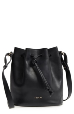 Sezane, Farrow Bucket Bag - Black