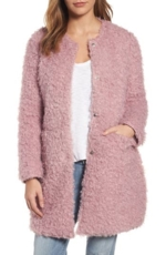 Via Spiga, Women's Via Spiga Reversible Faux Fur Coat