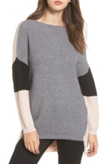 DREAMERS BY DEBUT, Women's Dreamers By Debut Colorblock Tunic Sweater