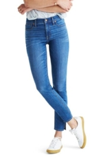 Madewell, Women's Madewell 9-Inch High-Rise Skinny Jeans: Side-Slit Edition