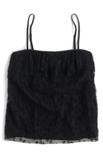 J. CREW, Women's J.crew Pleated Lace Camisole