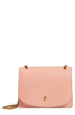 Madewell, Women's Leather Crossbody Wallet - Pink