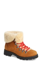 J. CREW, Women's J.crew Nordic Genuine Shearling Cuff Winter Boot