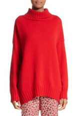 Oscar de la Renta, Women's Oscar De La Renta Virgin Wool Turtleneck Sweater