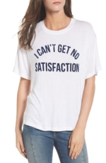 Daydreamer, Women's Daydreamer No Satisfaction Graphic Tee
