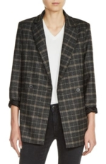 Maje, Women's Maje Plaid Blazer