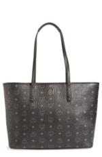 MCM, Mcm Medium Anya Tote - Black