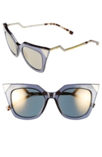 Fendi, Women's 52Mm Cat Eye Sunglasses -