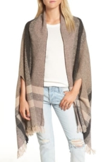 Madewell, Women's Madewell Placed Plaid Cape Scarf