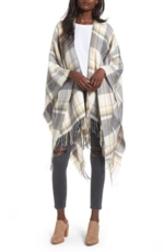 BP., Women's Bp. Plaid Cape