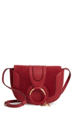 See by Chloe, See By Chloe Leather Satchel - Red