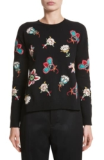 Valentino Garavani, Women's Valentino Floral Embroidered Wool Sweater
