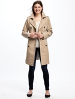 Old Navy, Womens Trench Coat For Women Clay Mate