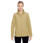 None, Leader Womens Soft Shell Sport Vegas Gold Jacket