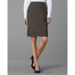 Twin Hill, Womens Hudson Skirt Brown Heather