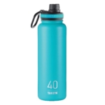 Overstock, Takeya Thermoflask Ocean Stainless Steel Water Bottle BPA Free 40 oz.