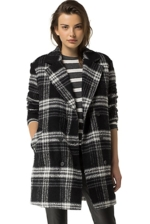 Tommy Hilfiger, Plaid Insulated Coat - 075 - S