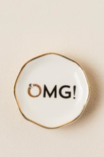 NATURAL LIFE, OMG! Ring Trinket Dish