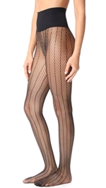Commando, Herringbone Net Tights
