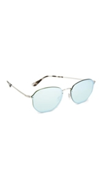 Ray-ban, Ray-Ban Octagon Flat Mirrored Sunglasses