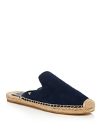 Tory Burch, Women's Max Suede Espadrille Slide Sandals