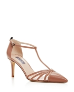 SJP by Sarah Jessica Parker, Sjp by Sarah Jessica Parker Carrie T Strap Pointed Toe Pumps