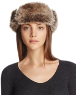 Barbour, Ambush Hat with Faux Fur Cuff