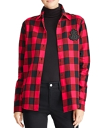 Ralph Lauren, Lauren Buffalo Plaid Button-Down Top