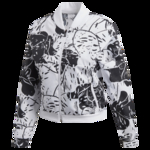 adidas Athletics, Woven Jacket - Womens - White/Black