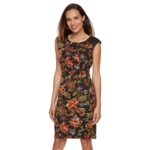 Chaya, Petite Floral Dress, Women's