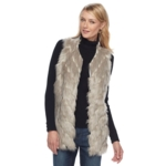 Napa Valley, Women's Faux Fur Vest