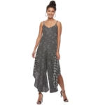 MSK, Women's Abstract Print Jumpsuit