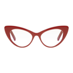 Saint Laurent, Red Bold Cat Eye Glasses