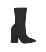 Yeezy, Black Bat Canvas Ankle Boot