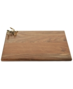 Michael Aram, Olive Branch Collection Wood Cutting Board