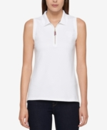 Tommy Hilfiger, Zip-Front Polo, Created for Macy's