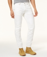 G-Star Raw, G-Star Raw Men's White Denim Slim Fit Jeans