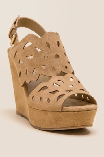 Chinese Laundry, In Love Wedge - Tan