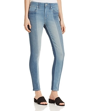 Levi's, Levi's 721 High Rise Patched Skinny Jeans in Indigo Undone