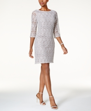 Jessica Howard, Sequined Lace Dress